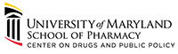 Official Logo for the Center for Drugs and Public Policy at the University of Maryland School of Pharmacy
