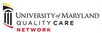 Official logo for the University of Maryland Quality Care Network.