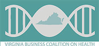 Official logo for the Virginia Business Coalition on Health.
