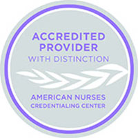Logo for the American Nurses Credentialing Center.