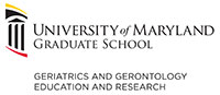 Logo for UMB Geriatrics and Gerontology Education and Research