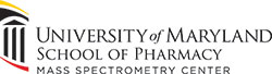 Official logo of the Mass Spectrometry Center at the University of Maryland School of Pharmacy